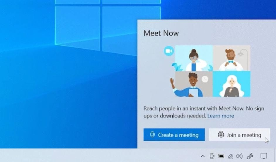 "How to disable ""Meet Now"" in Windows 10 TechRechard"