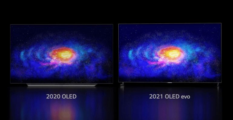 LG unveils brighter OLED TV lineup