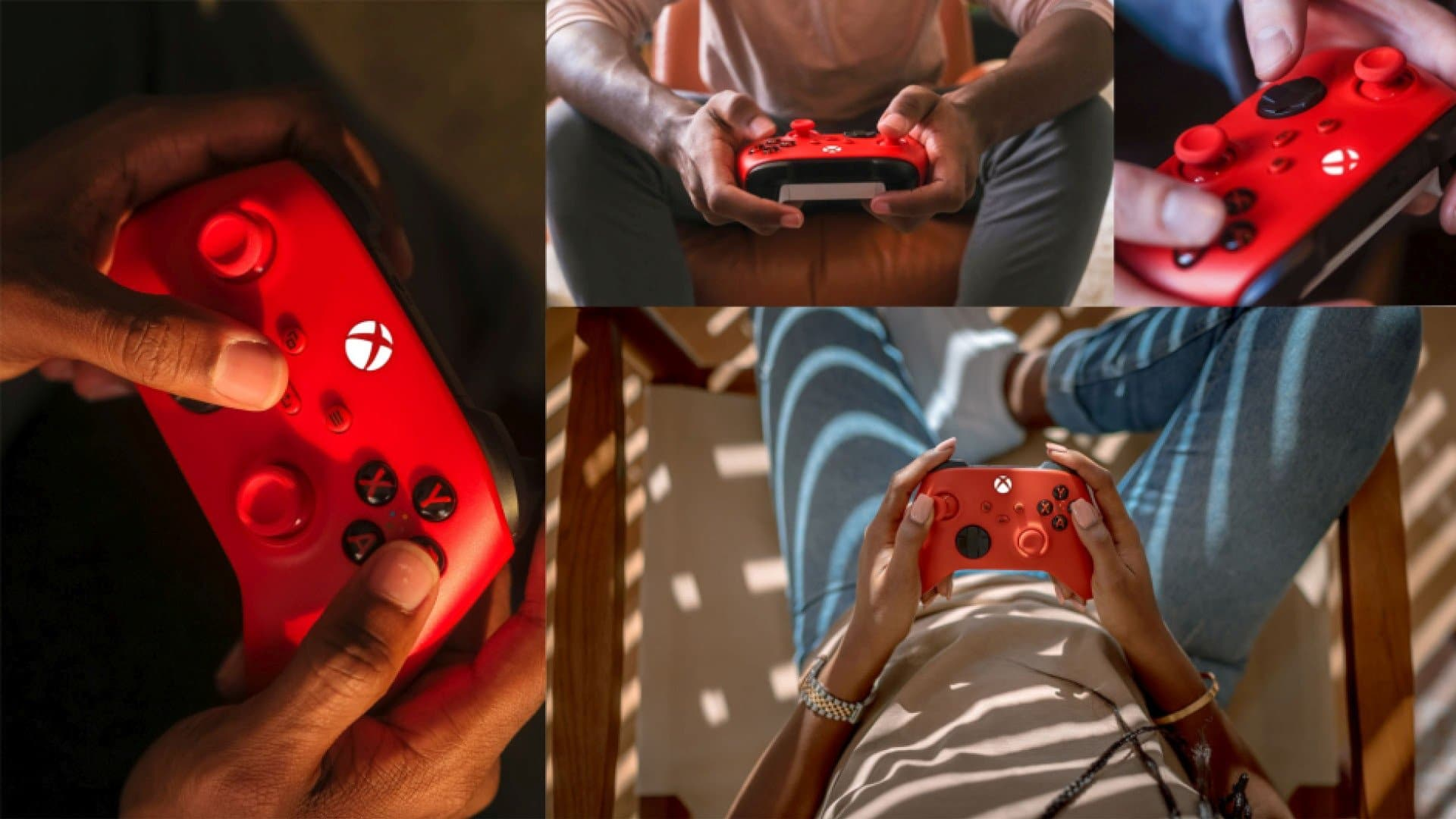 Microsoft Unveils New Xbox Gamepad in Pulse Red TechRechard