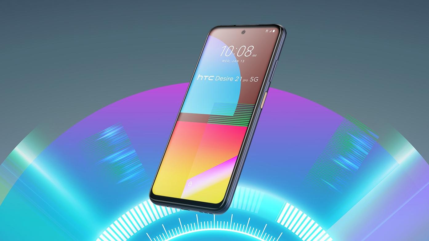 HTC unveils Desire 21 Pro 5G smartphone