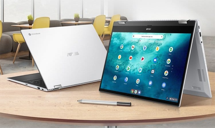 Chromebook Flip CX5: ASUS Chrome OS hybrid laptop with a Stylus TechRechard