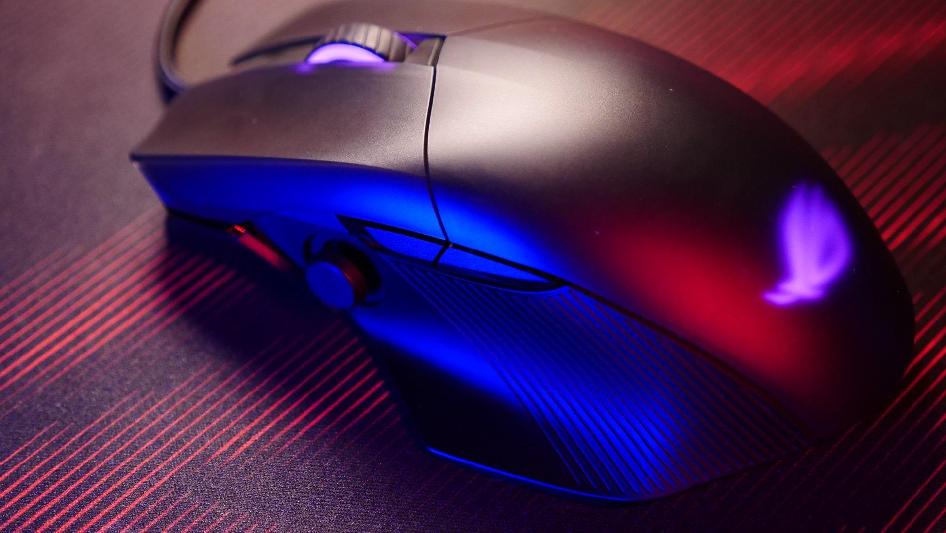 ASUS ROG Chakram Core Mouse Review TechRechard