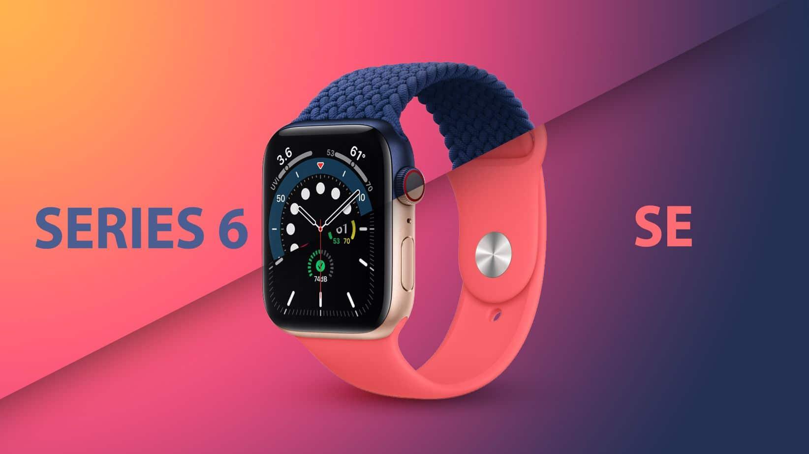 Apple Watch SE or Apple Watch 6