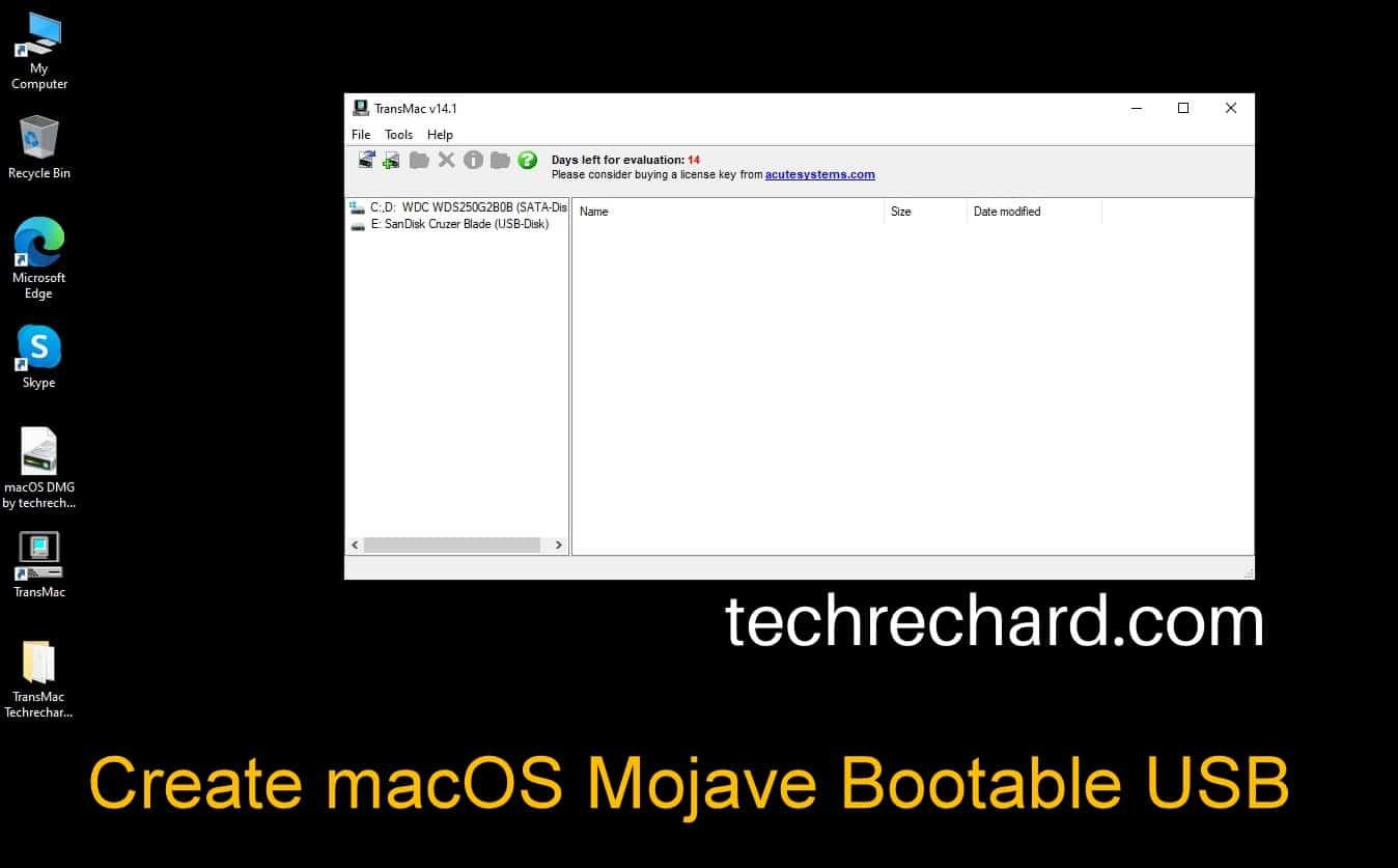 How To Create macOS Mojave Bootable USB on Windows: 4 Easy Steps (+Video Tutorial) TechRechard