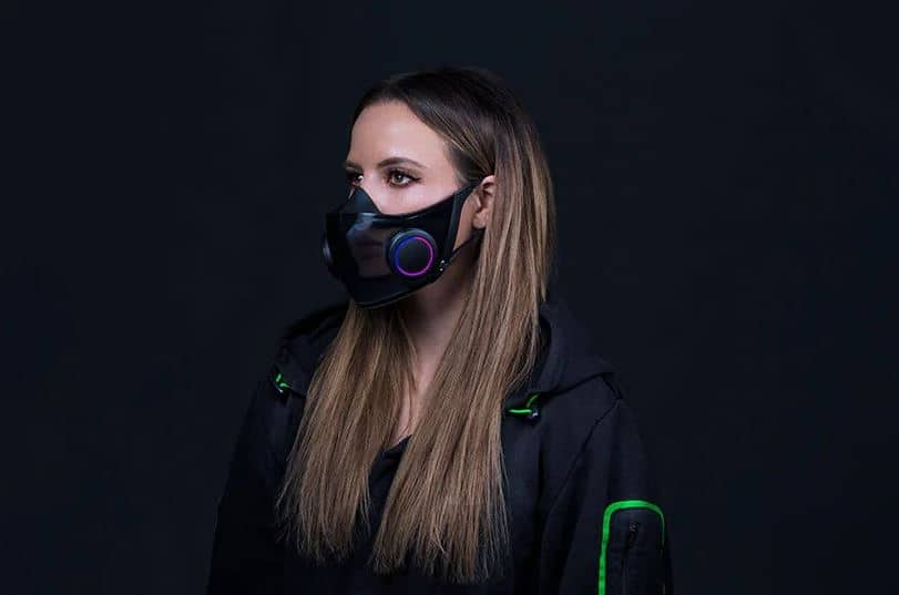 """Razer Designs Concepts for RGB Face Shield and 60 """"Gaming Chair TechRechard"""