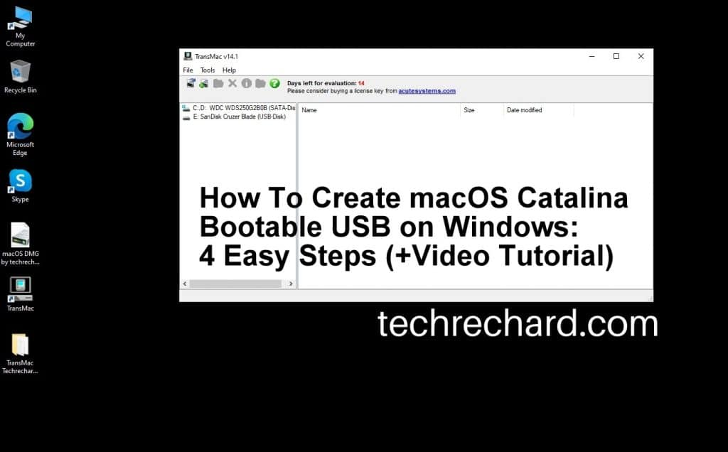 How To Create macOS Catalina Bootable USB on Windows: 4 Easy Steps (+Video Tutorial)