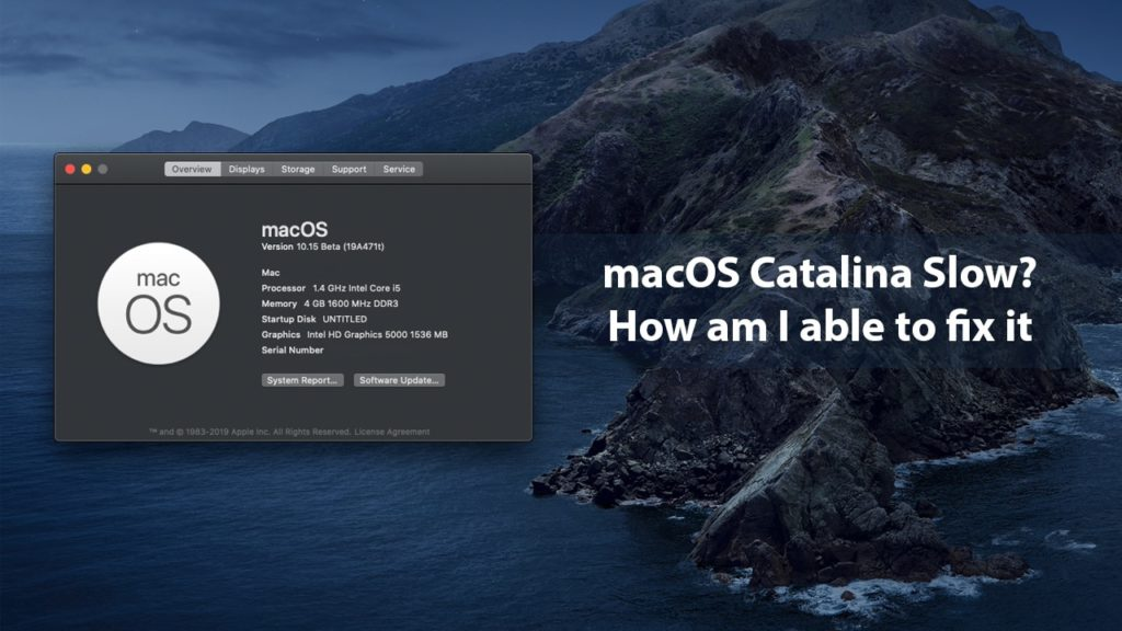 How to Speed Up macOS Catalina?