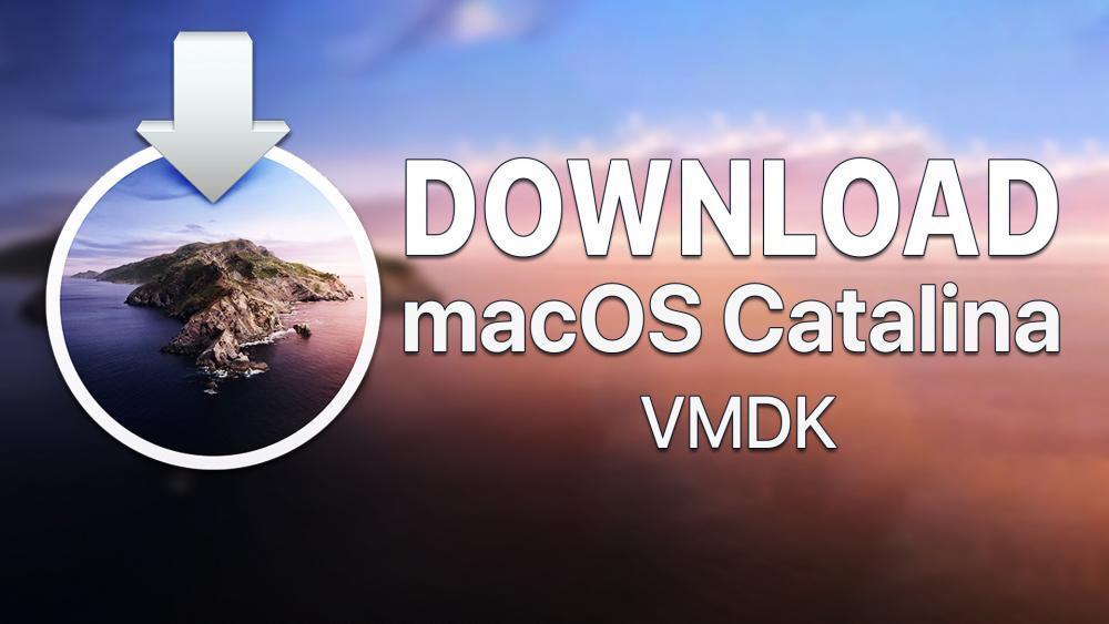 macOS Catalina VMDK