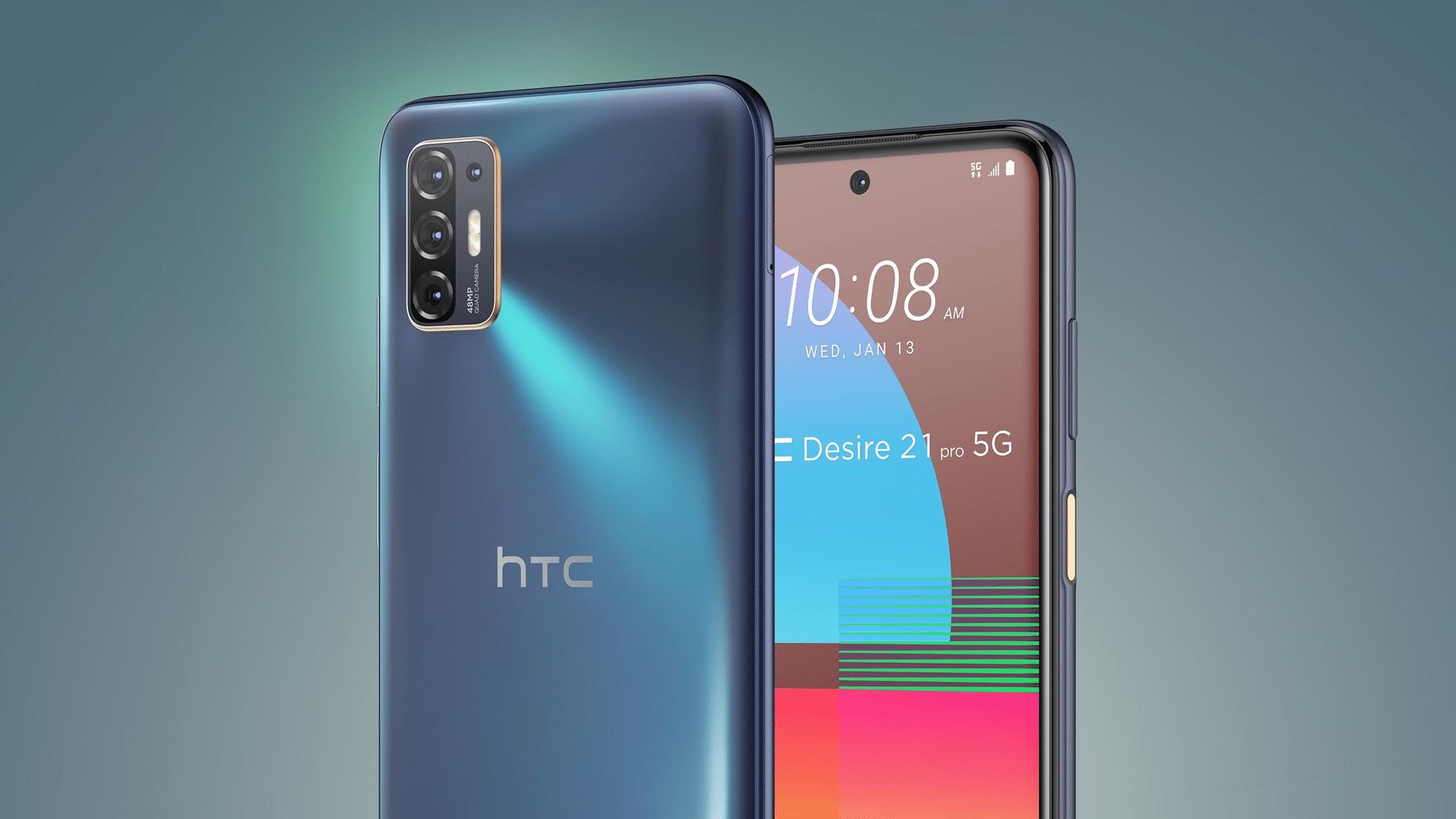 HTC unveils Desire 21 Pro 5G smartphone TechRechard