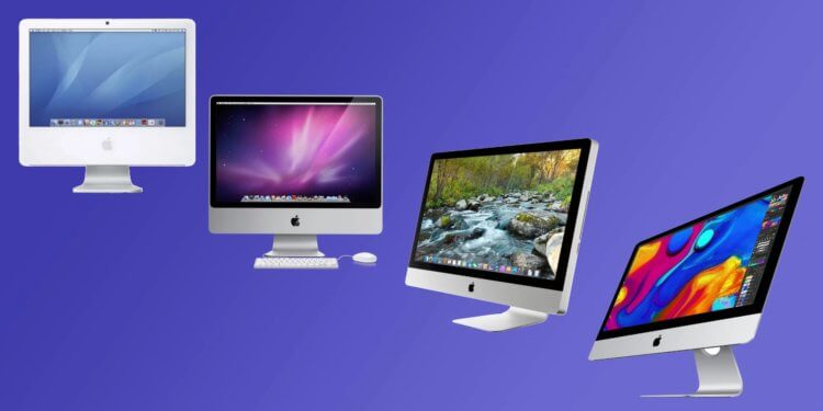 redesign the iMac