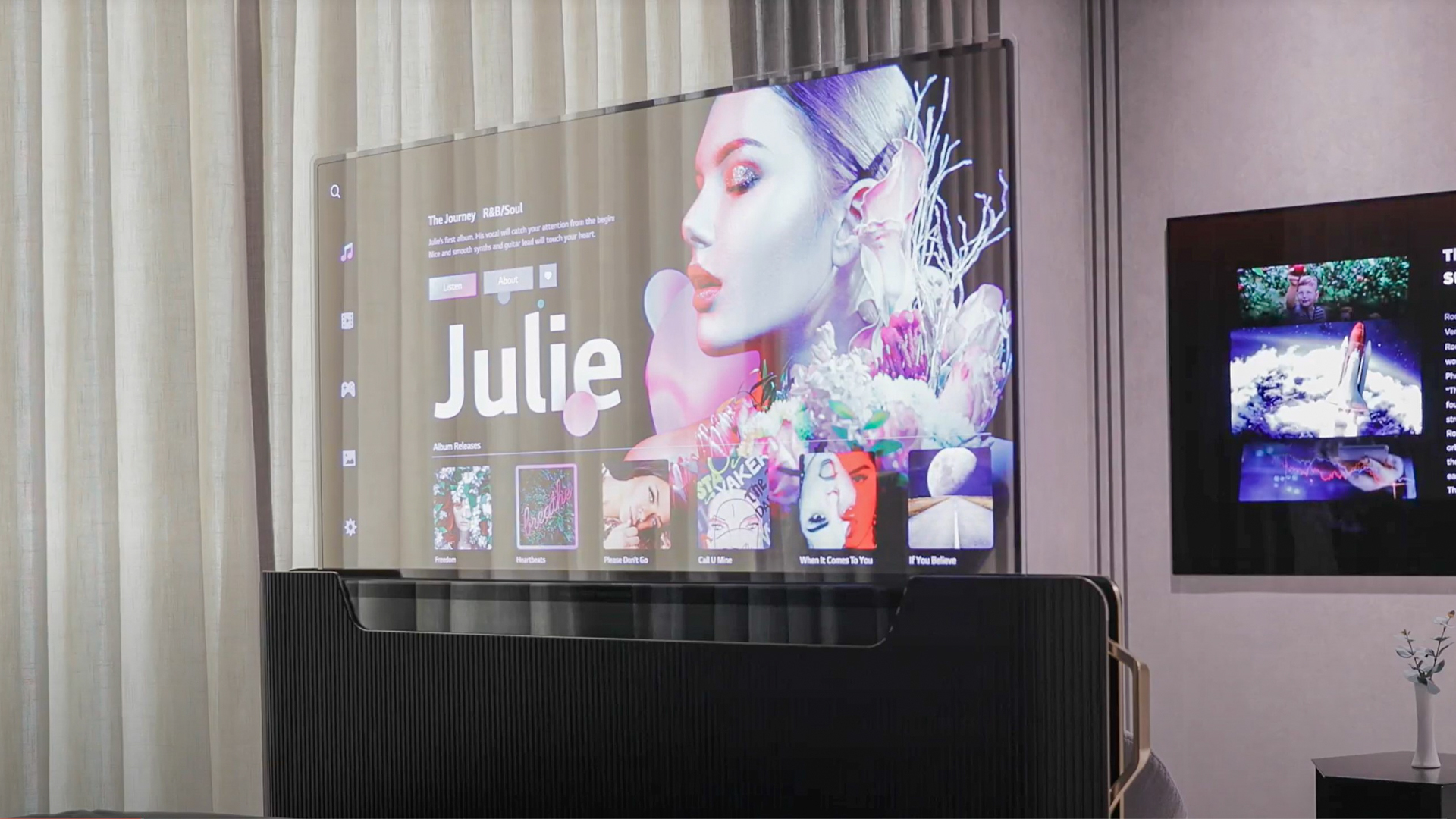 CES 2021: LG unveils bed with built-in transparent TV