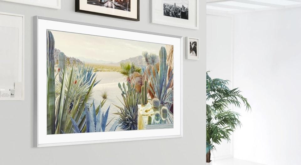 "Samsung's new 43"" TV features both Landscape and Portrait mode TechRechard"