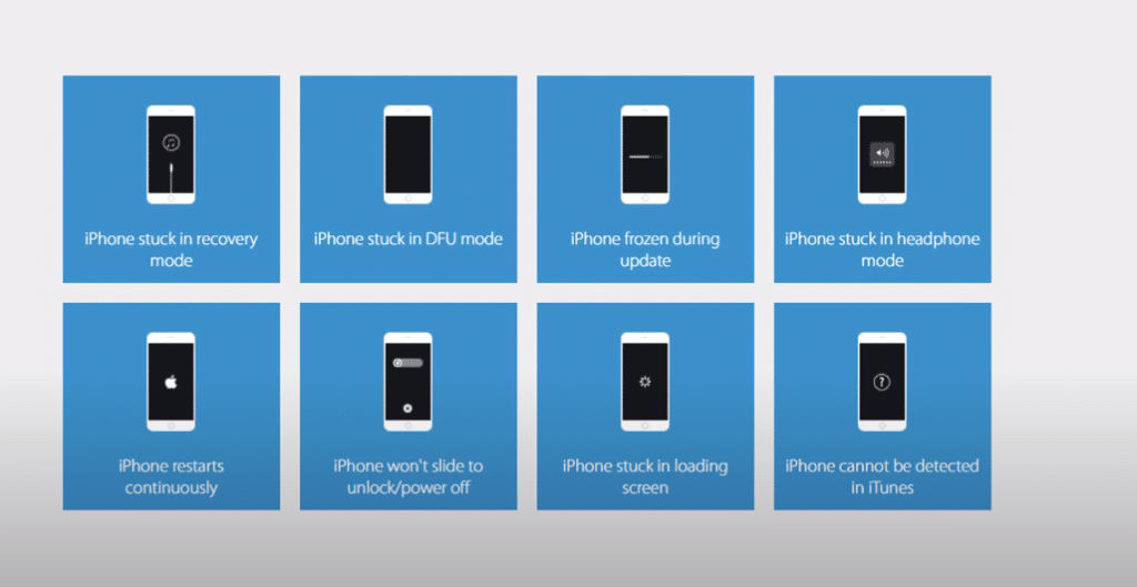 iPhone won't boot or show a black screen? Here's how to fix it with ReiBoot Tool. TechRechard