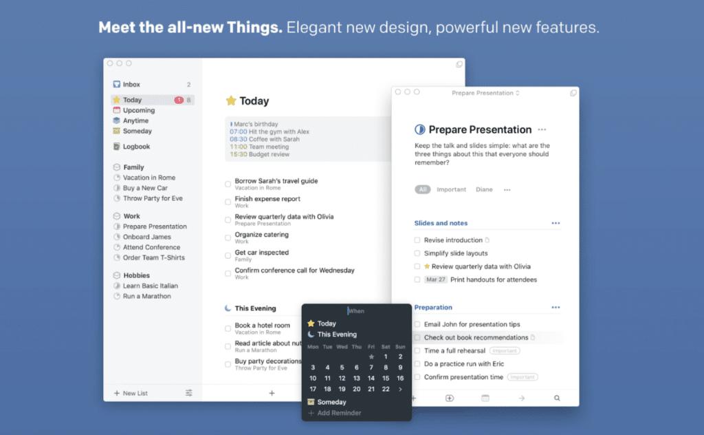 Best Widgets for macOS Big Sur- things