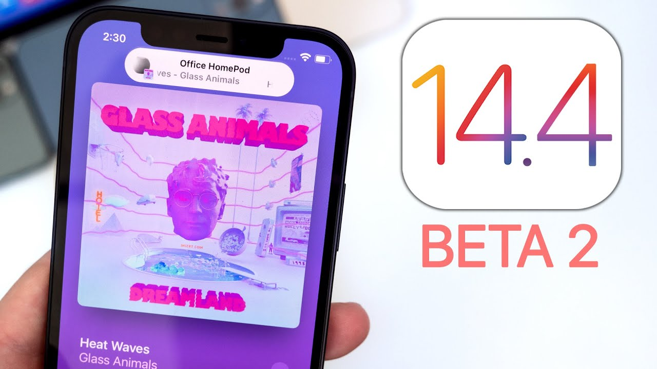 Apple has released iOS 14.4 beta 2. What's new? TechRechard