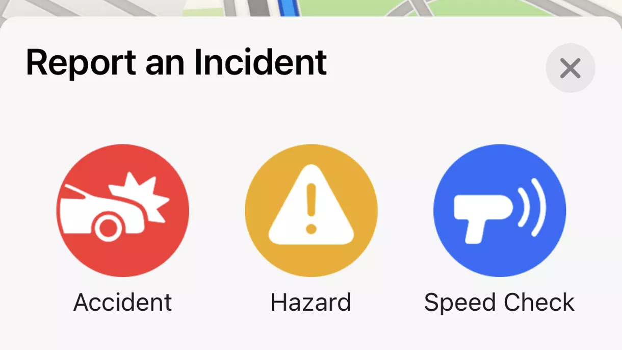 Apple Maps app in iOS 14.5 lets you report accidents, speed traps, and obstacles on the road