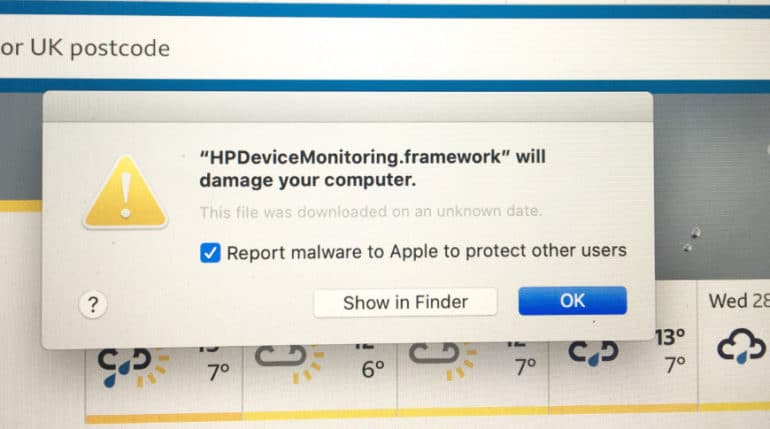 """How to remove the HP printer """"malware"""" driver from Mac? 9 Easy Steps TechRechard"""