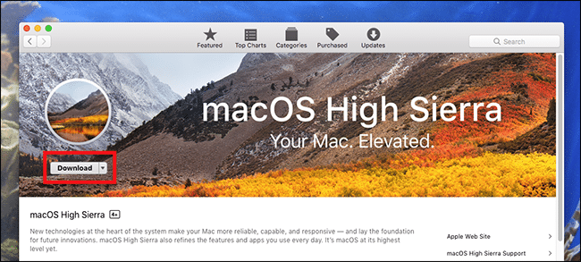 macOS High Sierra on unsupported Mac