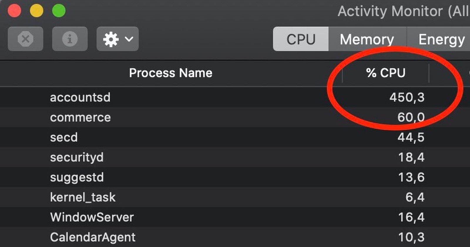 Accountsd: How to Fix High CPU Usage on Mac? 3 Possible Fix TechRechard