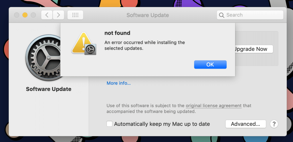 macOS Catalina Problems and Solutions: An error occurred while installing macOS Catalina; how to fix it?
