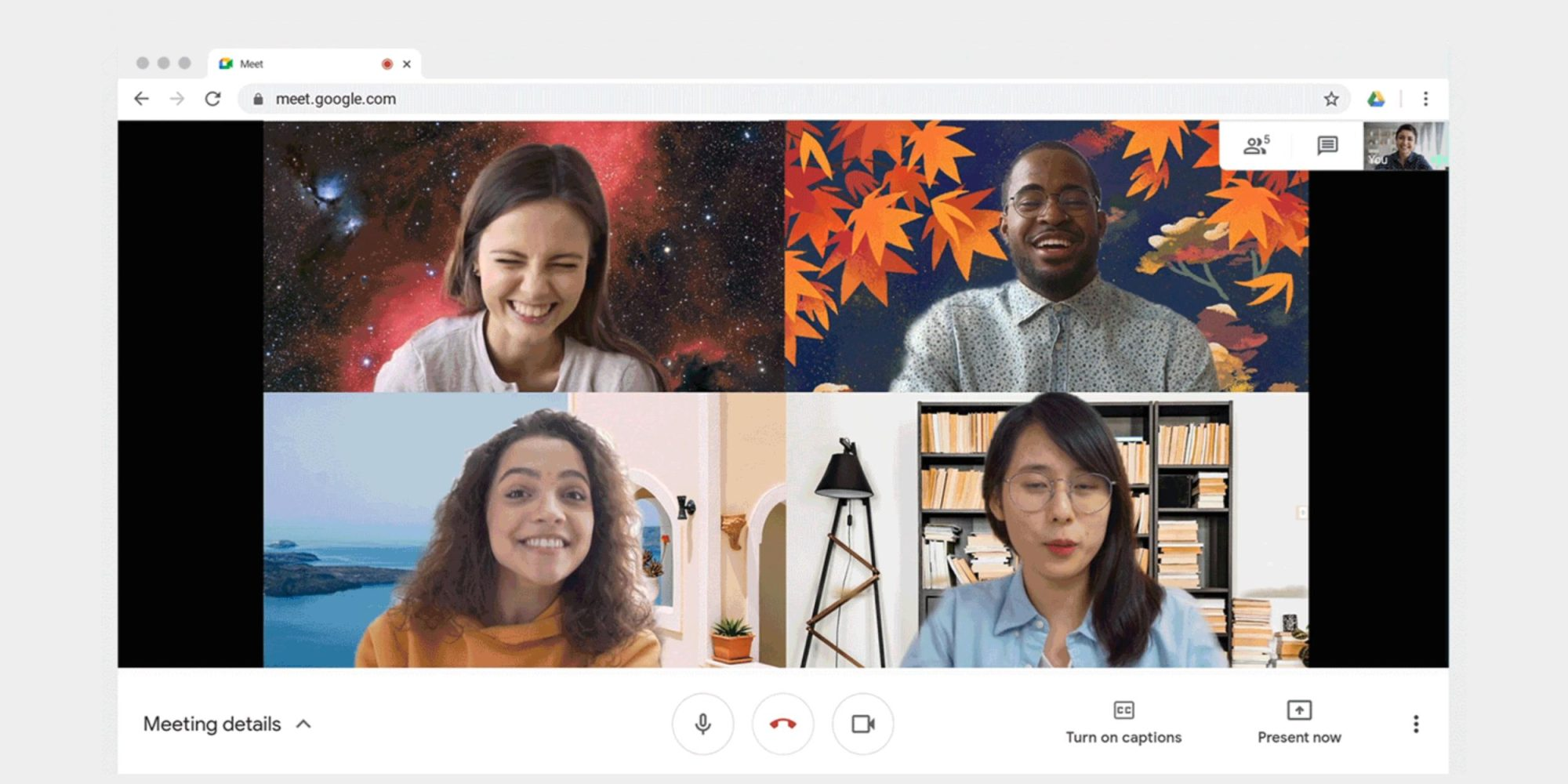 """Google Meet now has a """"Green Room"""" to check your Video before Calling TechRechard"""