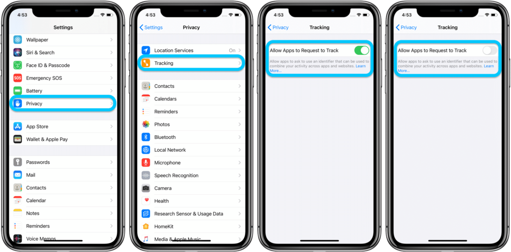 How to prevent apps from tracking you on iOS?