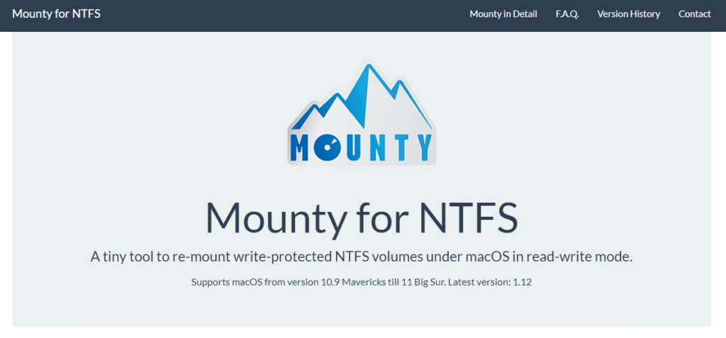 Mount write-protected NTFS volumes under macOS Catalina; how to fix?