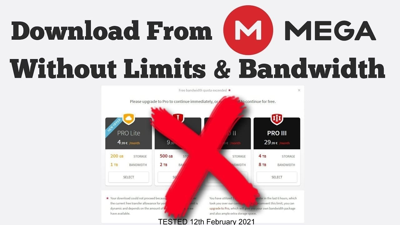 How to Download MEGA files without Limits: 16 Easy Steps in 2021 TechRechard