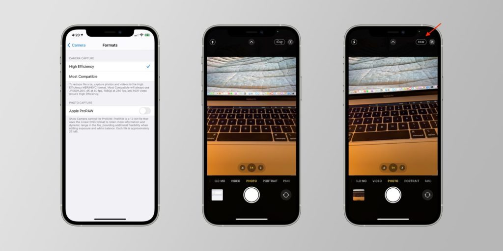 How to enable ProRAW in iPhone 12? 4 Easy Steps TechRechard
