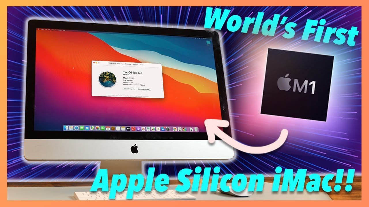 How to Build Your M1 iMac from Mac mini Parts TechRechard