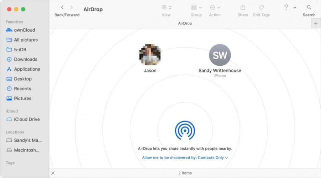 Ways to Send Files Between Macs: Airdrop