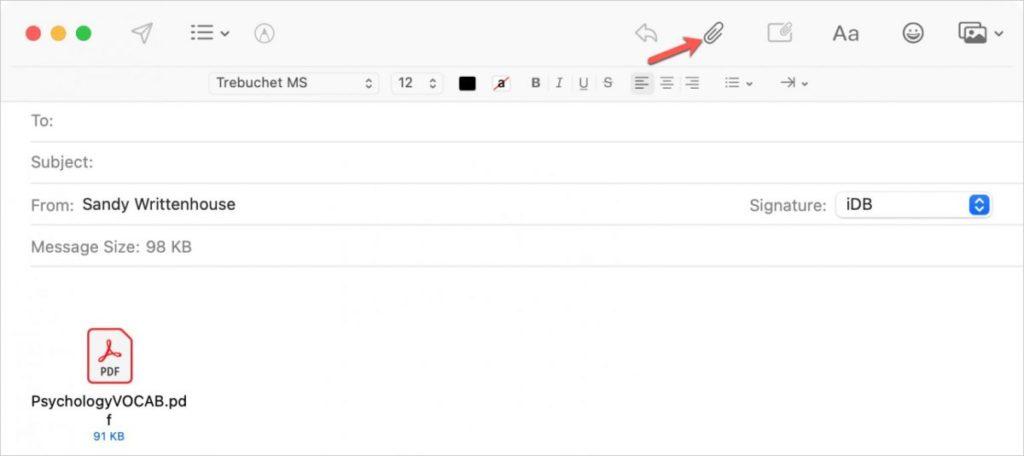Ways to Send Files Between Macs: Via Mail
