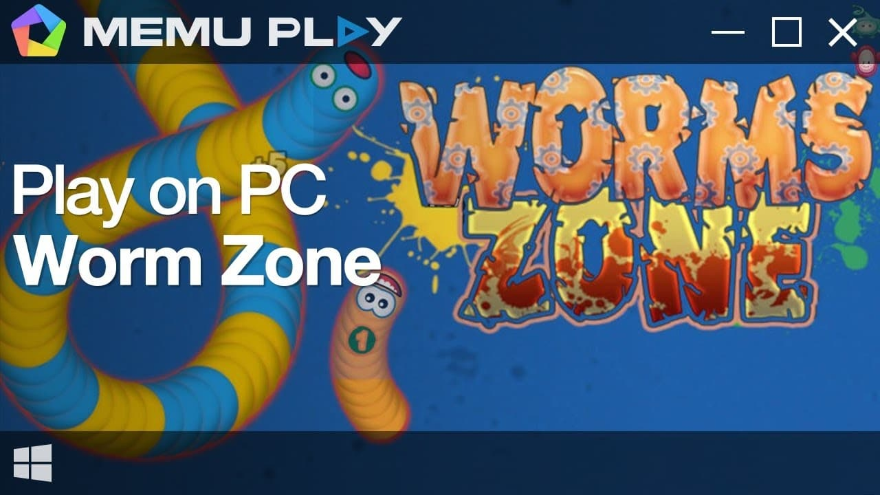 How to play Worms Zone on PC using Memu Player TechRechard